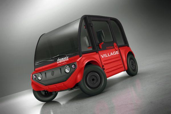 Pixel Chamonix electric car