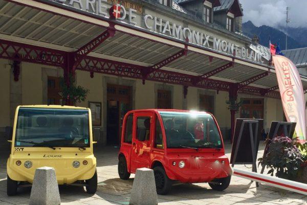 First platform in Chamonix - Les Ponettes